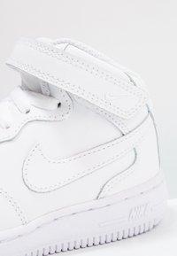 Nike Sportswear - NIKE FORCE 1 MID (TD) - Sneaker high - white - 5