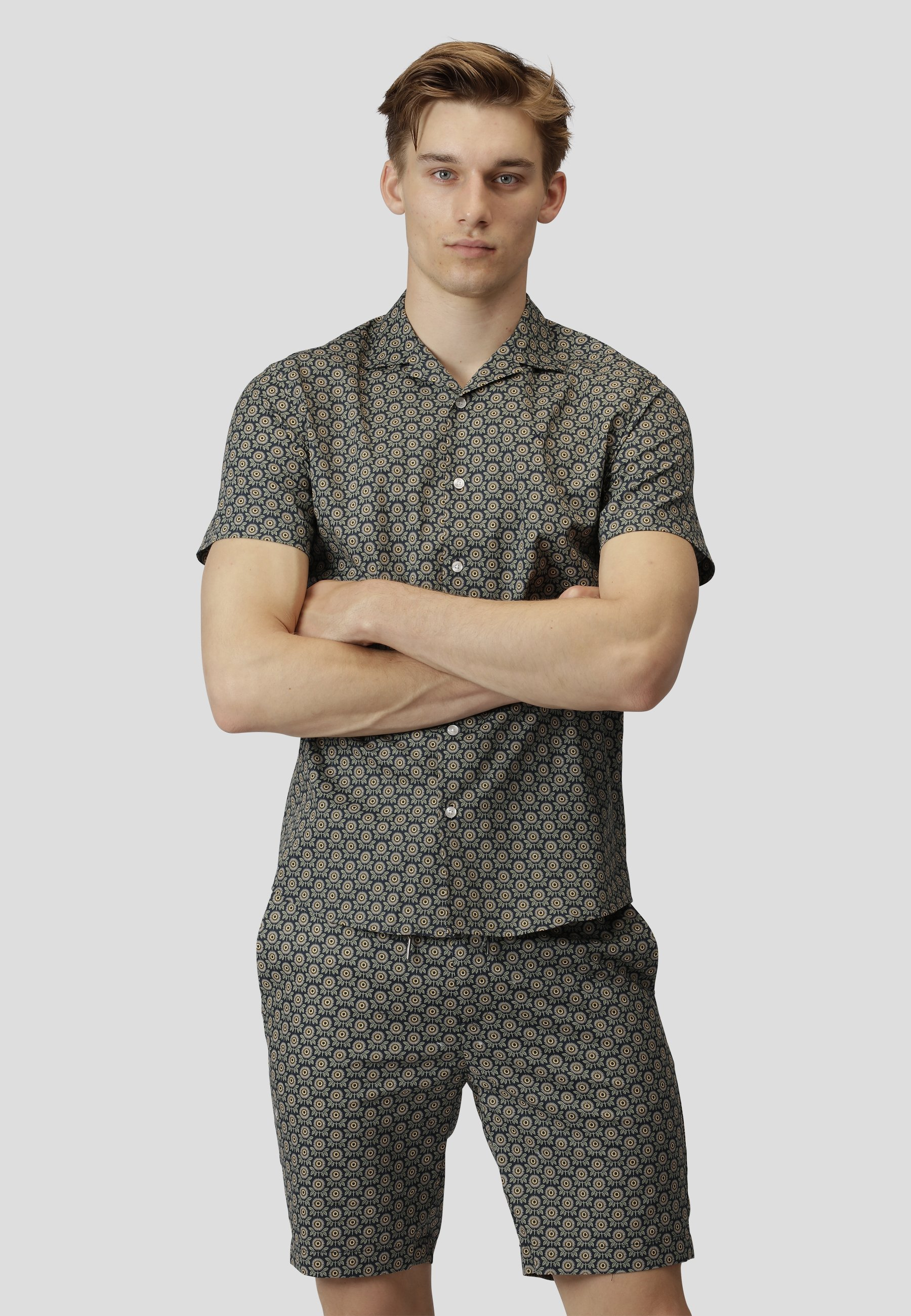 Uomo BOWLING FELIX S/S - Camicia
