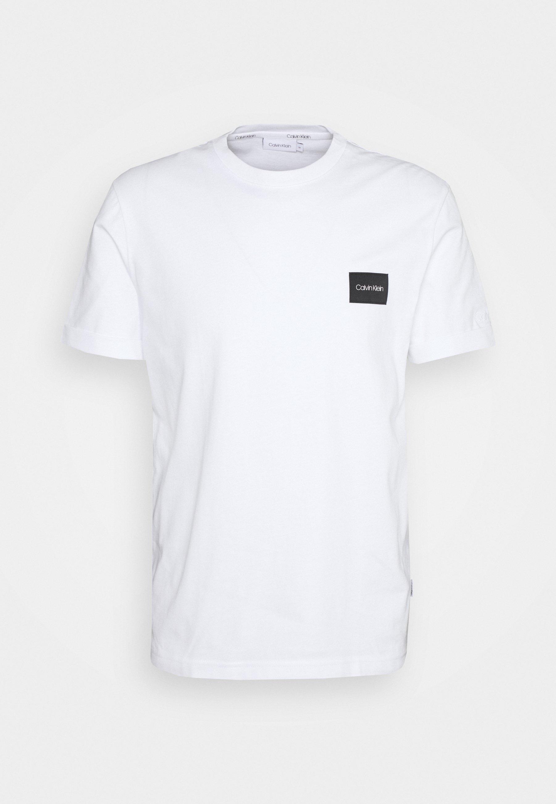 Uomo TURN UP LOGO SLEEVE - T-shirt basic