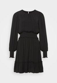 Forever New - JESSICA LONG SLEEVE SMOCK DRESS - Day dress - black - 5