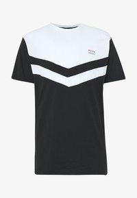 AUGUST - Printtipaita - white/black