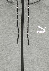 Puma - CLASSICS TECH HOODIE - Sweat à capuche zippé - medium gray heather - 2