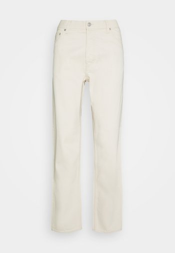 BARREL - Jeans Tapered Fit - ecru