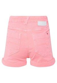 WE Fashion - WE FASHION MEISJES SKINNY FIT DENIMSHORT - Jeansshort - pink - 3