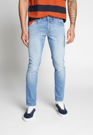 JJIGLENN JJFOX - Jeans slim fit - blue denim
