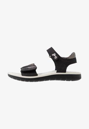 Sandalen - nero/carbone