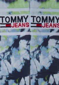 Tommy Jeans - TIE DYE SOCK UNISEX - Ponožky - lime - 1
