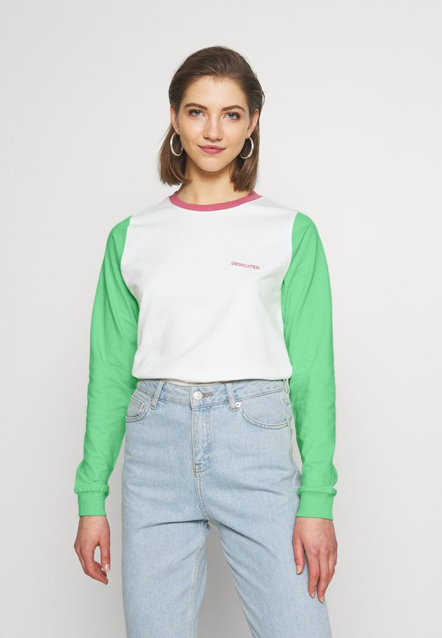 YSTAD SPLIT - Collegepaita - off-white