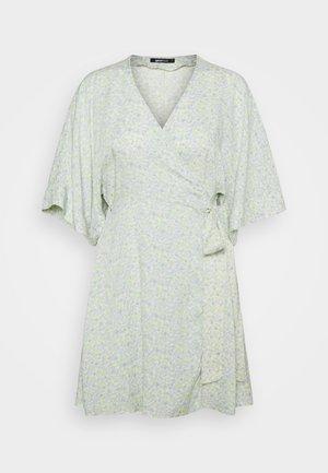 DOLLY SHORT DRESS - Day dress - blue ditsy
