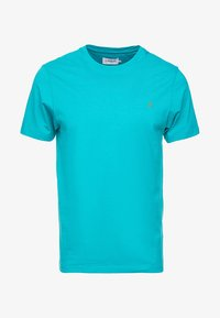 turquoise green marl