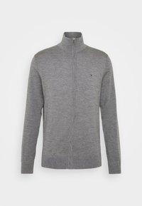 LUXURY ZIP THROUGH - Strikjakke /Cardigans - grey