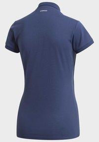 adidas Performance - CLUB POLO SHIRT - Polo shirt - blue - 12