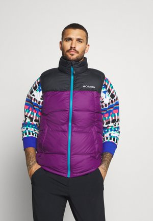 PIKE LAKE VEST - Vesta - plum/black