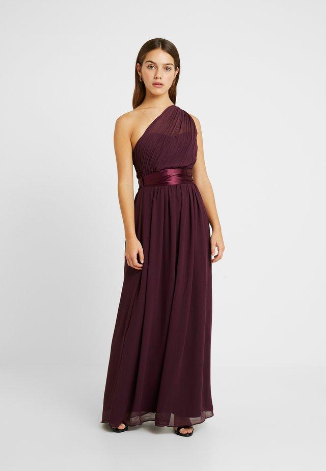 SADIE DRESS - Gallakjole - merlot