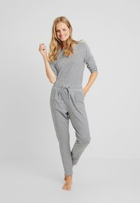 Short Stories - PANTS LONG - Pyjamahousut/-shortsit - black - 1