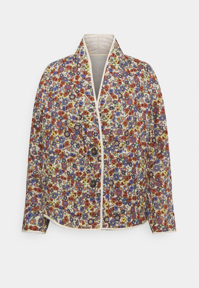 QUILTED JACKET - Overgangsjakker - multicolour