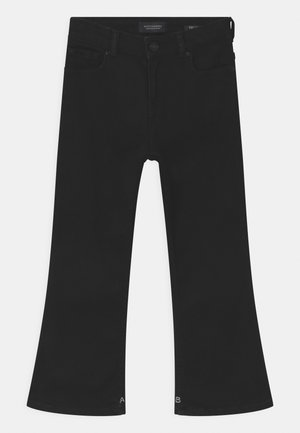 THE KICK - Bootcut jeans - black shadow