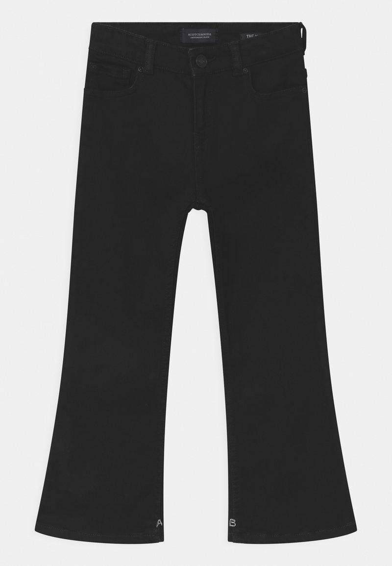 Scotch & Soda - THE KICK - Bootcut jeans - black shadow