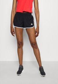 adidas Performance - M20 SHORT - Pantalón corto de deporte - black/white - 0