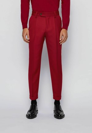 Chinos - dark red