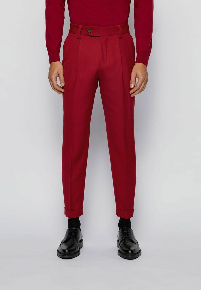 Chinos - dark red