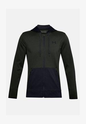 Zip-up hoodie - baroque green