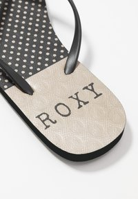 Roxy - VIVA STAMP  - Chanclas de dedo - black