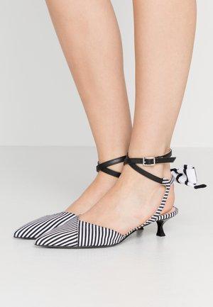 SCARPA DONNA WOMANS SHOES - Classic heels - black/white