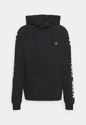 KEEP EARTH CLEAN CURVE HEM HOODIE - Luvtröja - black
