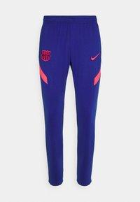 Nike Performance - FC BARCELONA DRY PANT - Klubbkläder - deep royal blue/fusion red - 6