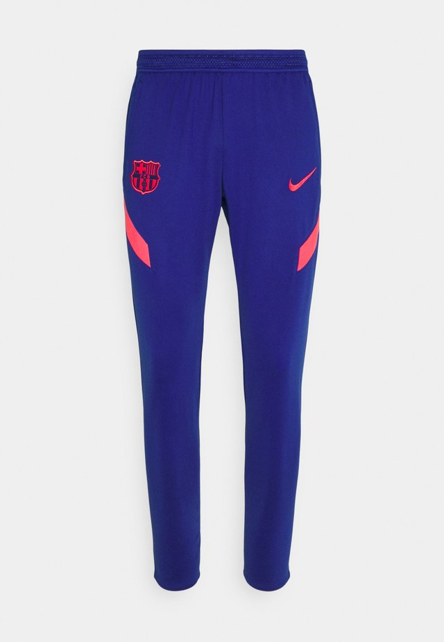 FC BARCELONA DRY PANT - Fanartikel - deep royal blue/fusion red