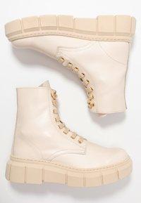 Kaltur - LOR - Platform ankle boots - beige - 1