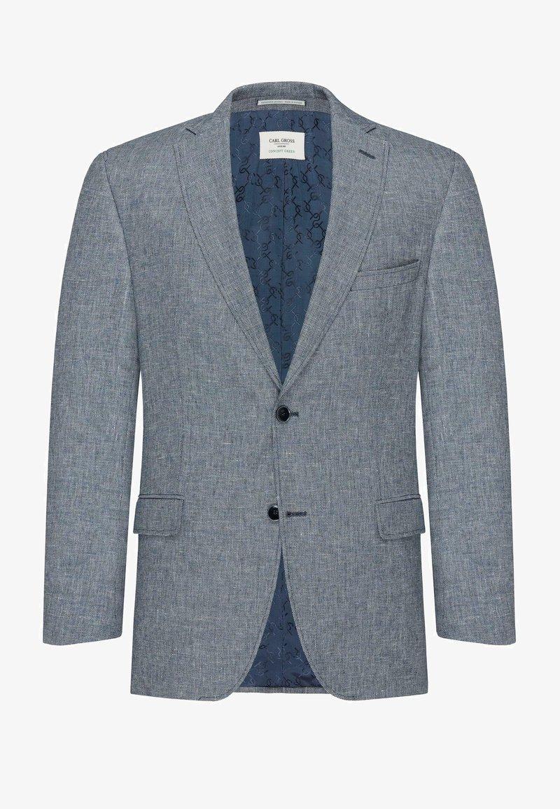 Carl Gross - CG THEO-G SV - Blazer jacket - blau