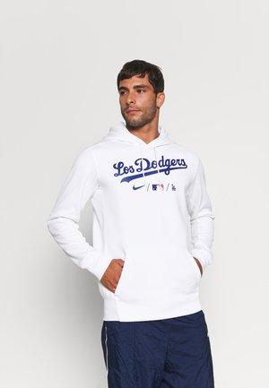 MLB CITY CONNECT LA DODGERS BASEBALL THERMA HOODIE - Pelipaita - white