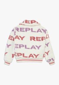 Replay - Chaqueta de invierno - white/light pink/purple - 1