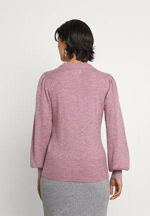 NUCHANEY - Stickad tröja - rose violet