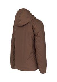 K-Way - Down jacket - brown-blue maritime - 2