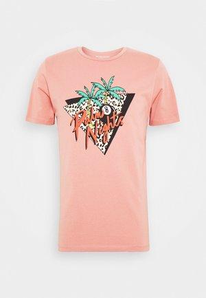 JORBILLY TEE CREW NECK - Print T-shirt - rosette