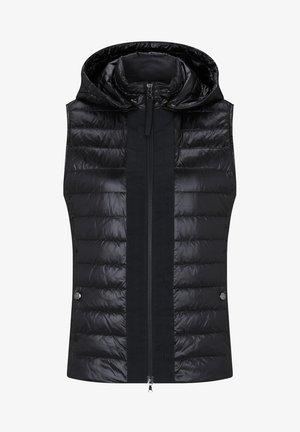 WILTON - Waistcoat - schwarz