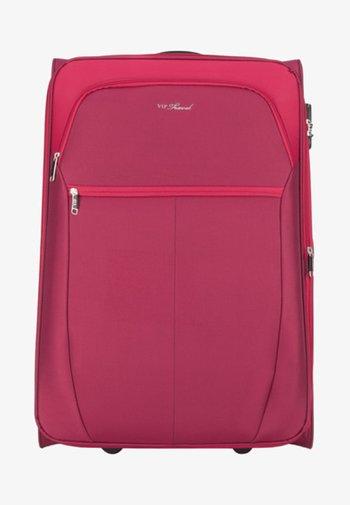 VIP KOLLEKTION - Wheeled suitcase - red