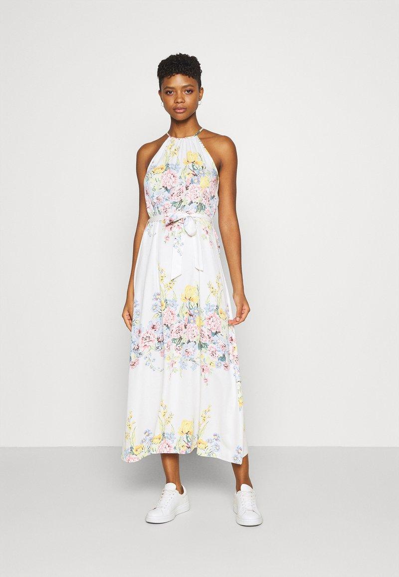 ONLY - ONLALMA LIFE LONG DRESS - Maxi dress - cloud dancer/summer botanic