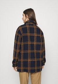 Selected Femme - SLFESTA JACKET - Classic coat - maritime blue/dachshund - 2