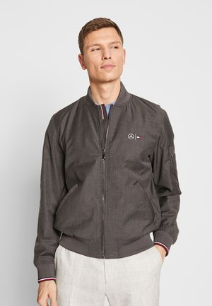 TOMMY X MERCEDES-BENZ - Bomber Jacket - grey