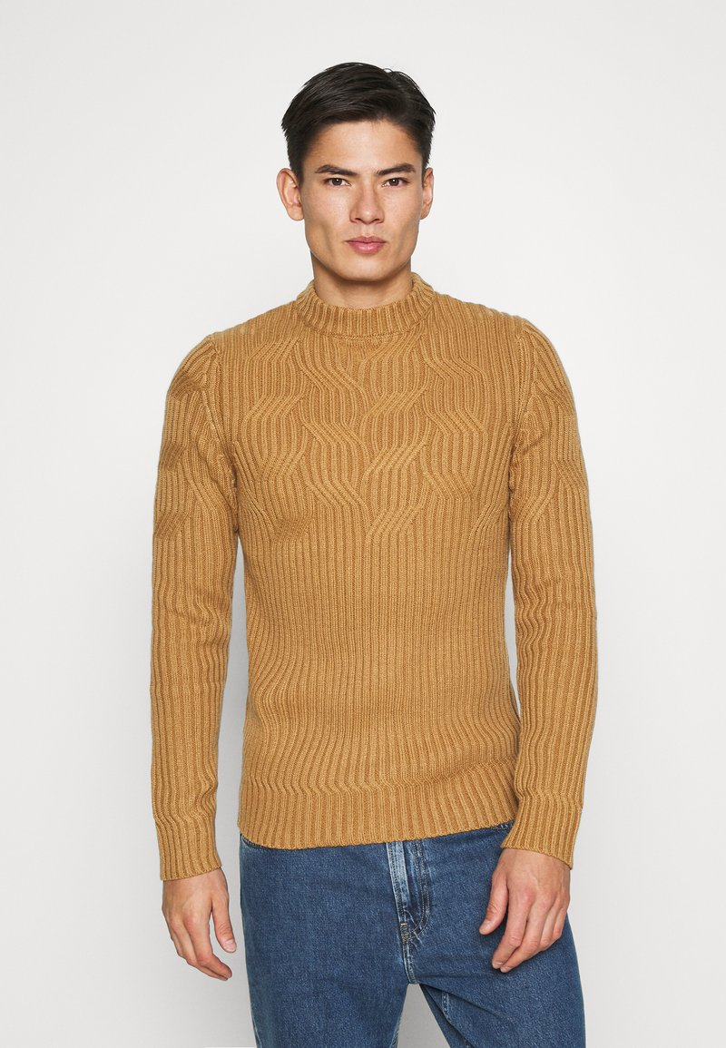Pier One - Jumper - camel