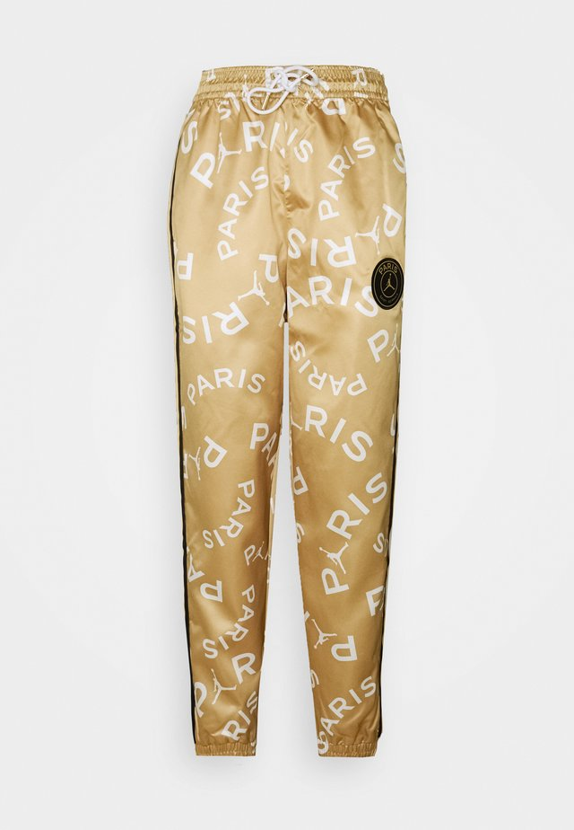 PANT - Spodnie treningowe - club gold/black