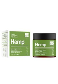 Dr Botanicals - HEMP NATURAL SUPER ENZYME MASK - Face mask - - - 1