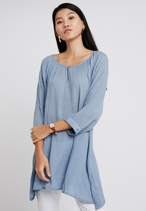 AMBER - Tunic - faded denim