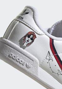 adidas Originals - CONTINENTAL 80 SHOES - Zapatillas - ftwr white/collegiate navy/scarlet - 8