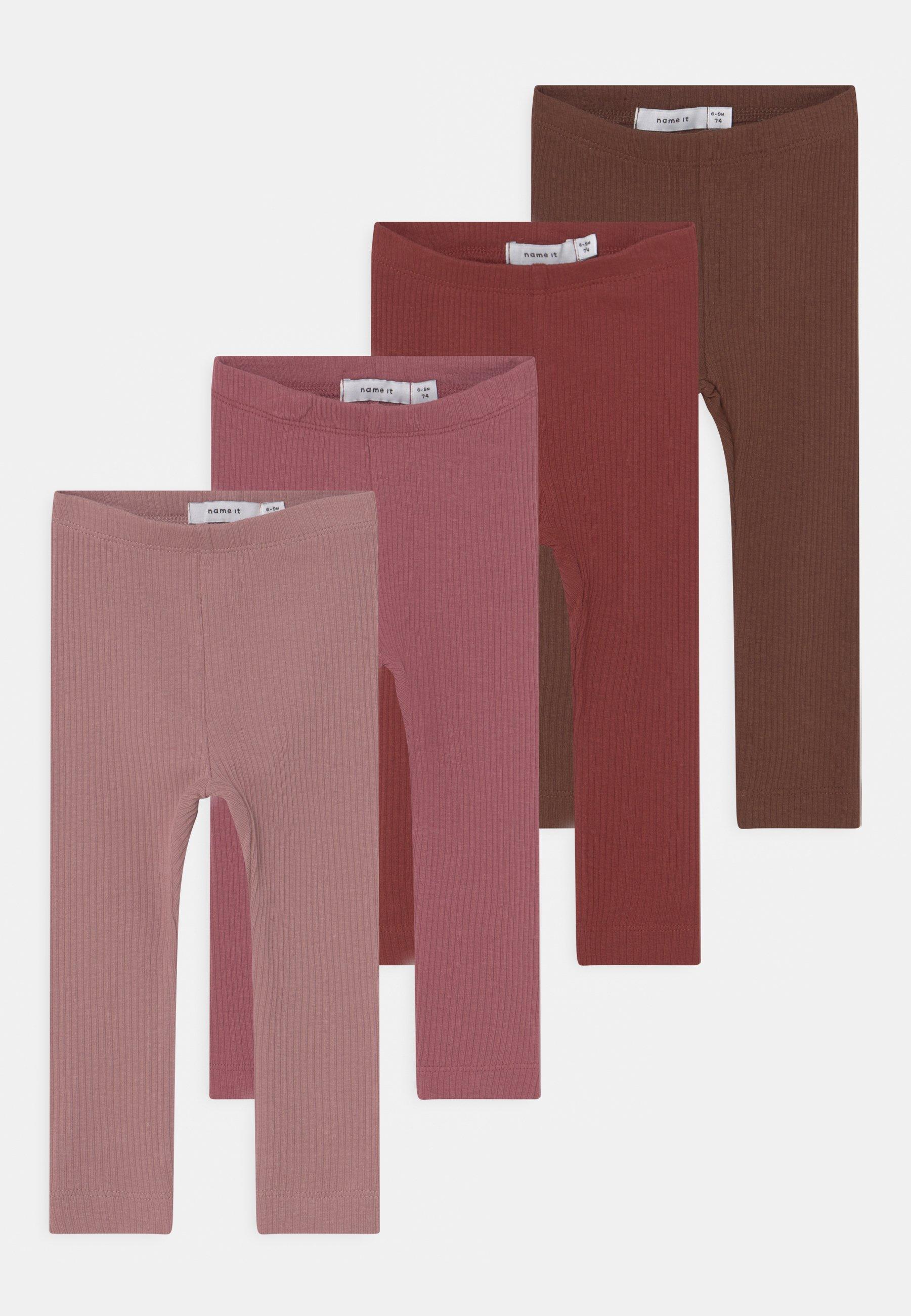 Kids NBFKABEX 4 PACK - Leggings - Trousers