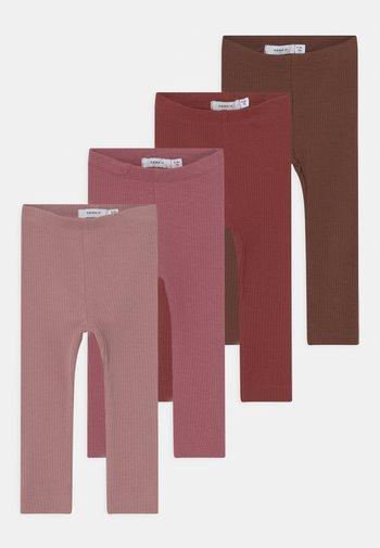 NBFKABEX 4 PACK - Leggings - Trousers - mauve